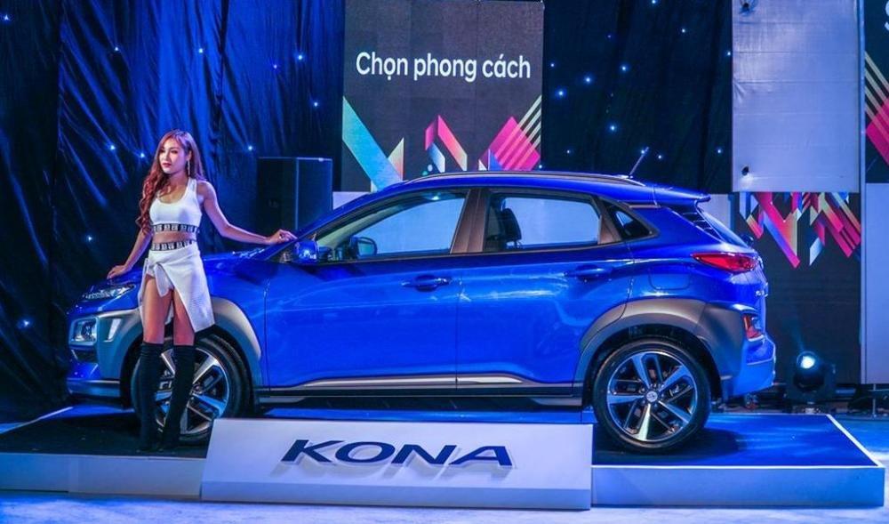 Hyundai Kona chính thức trình làng tại Việt Nam, đối đầu Ford EcoSport 7