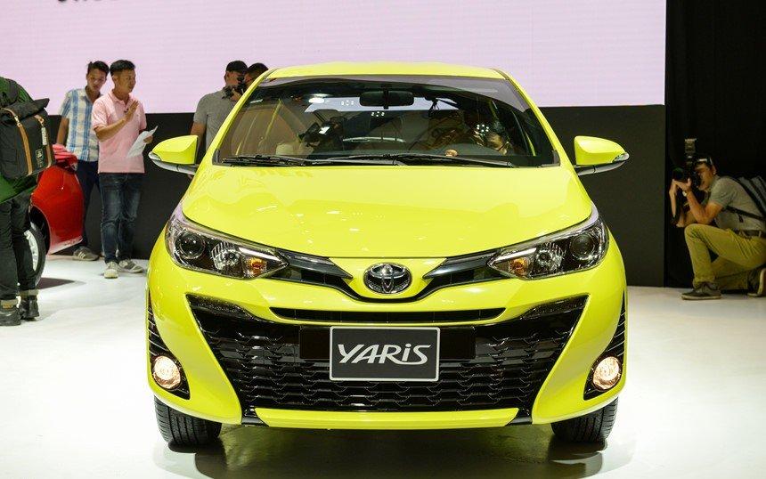 Đầu xe Toyota Yaris G 2019