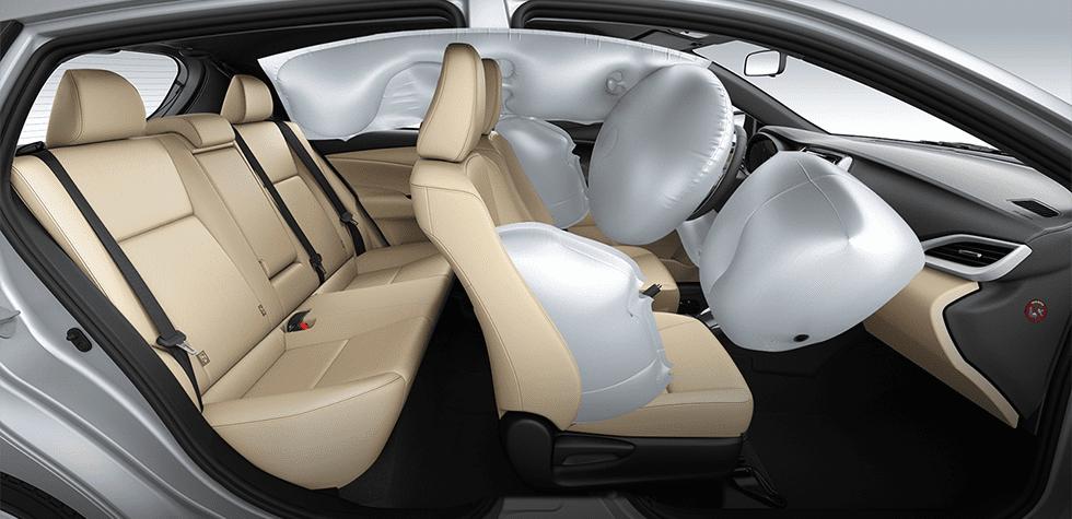 Đánh giá xe Toyota Yaris G 2019 về trang bị an toàn..