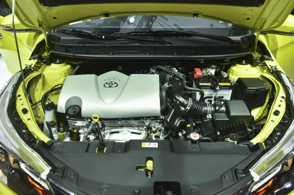 Đánh giá xe Toyota Yaris G 2019 về động cơ