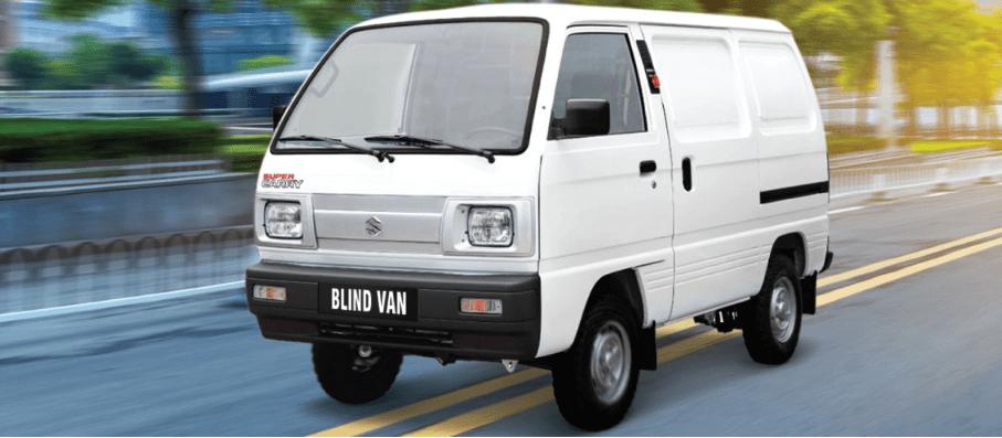Thiết kế nội thất của Suzuki Blind Van 2018 a3 4
