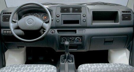 Thiết kế nội thất của Suzuki Carry 2021 a7 a1