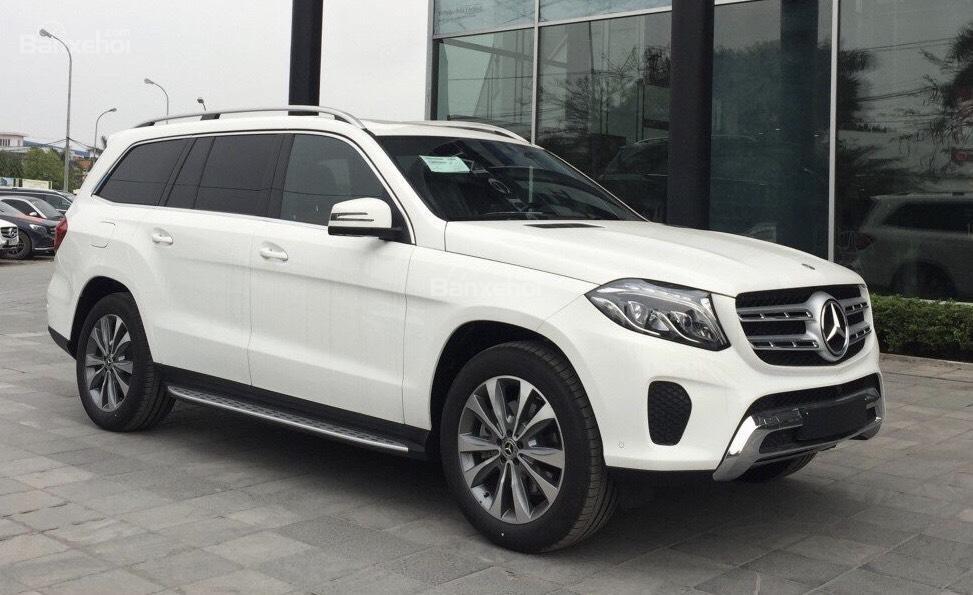 Bán ô tô Mercedes GLS 400 đời 2019, màu trắng, nhập khẩu nguyên chiếc-0
