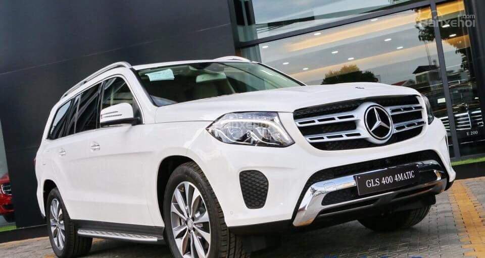 Bán ô tô Mercedes GLS 400 đời 2019, màu trắng, nhập khẩu nguyên chiếc-3