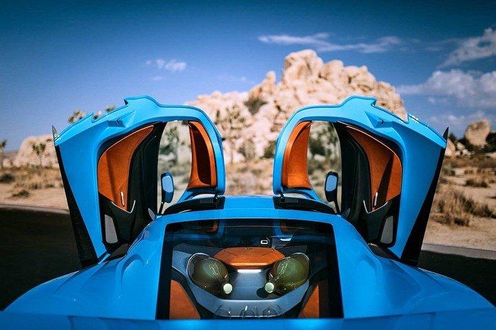 Phiên bản đặc biệt Rimac C_Two California Edition có giá hơn 54 tỷ đồng 6.