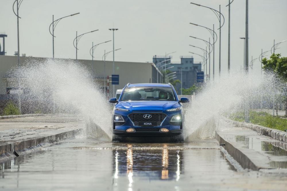 Ngoại thất Hyundai Kona 2018..