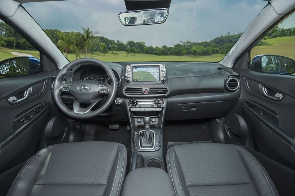 Nội thất Hyundai Kona 2018.