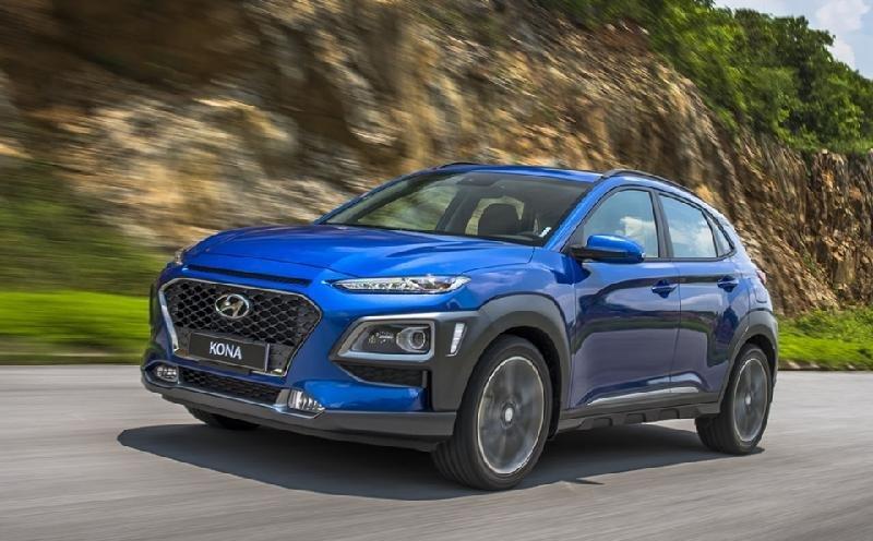 Hyundai Kona ra mắt, giá từ 615 triệu với nhiều cải tiến a2
