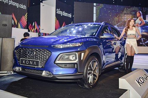 Hyundai Kona ra mắt, giá từ 615 triệu a1