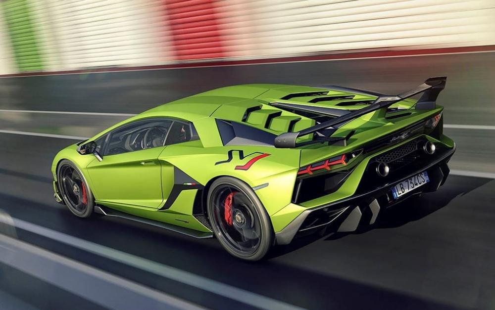 Lamborghini Aventador SVJ chốt giá bán hơn 12 tỷ đồng 5.