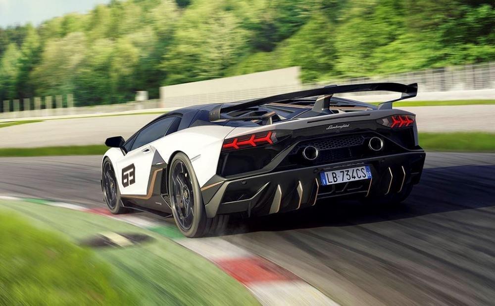 Lamborghini Aventador SVJ chốt giá bán hơn 12 tỷ đồng 4.