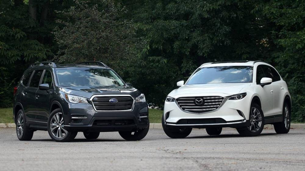 SUV 3 hàng ghế, chọn Subaru Ascent 2019 hay Mazda CX-9 2018?.