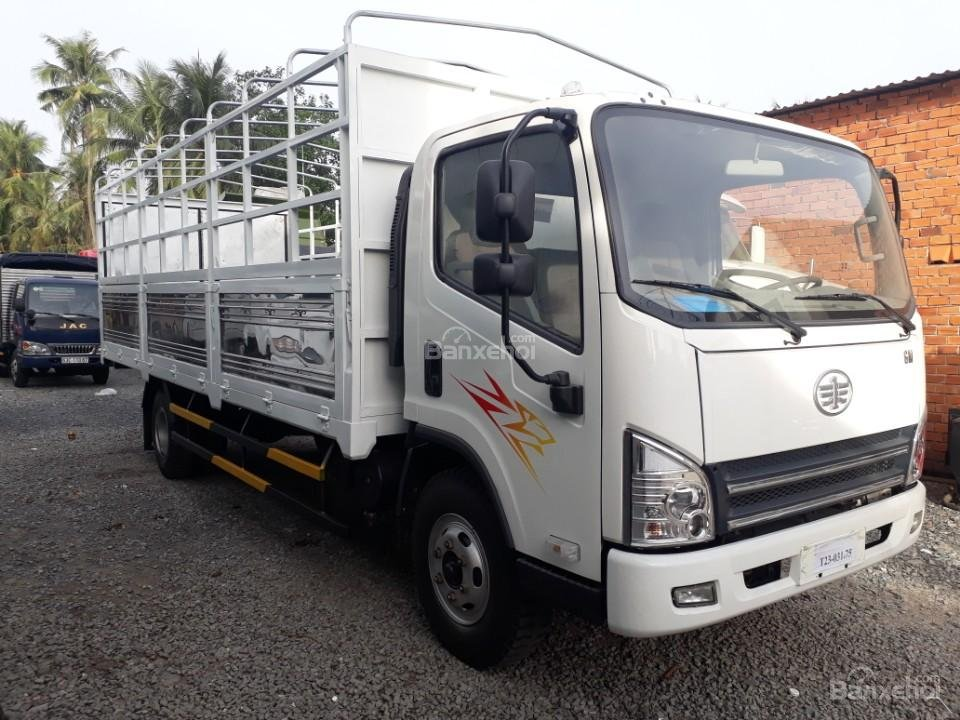 Bán trả thẳng, trả góp xe tải Faw 7,3 tấn động cơ Hyundai D4DB, giá rẻ-0