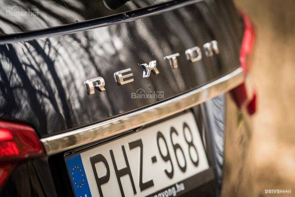 Đánh giá xe SsangYong Rexton 2018 - đuôi - 3