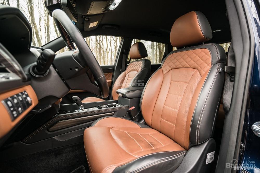 Đánh giá xe SsangYong Rexton 2018 - ghế - 1
