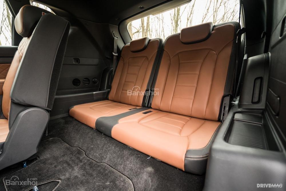 Đánh giá xe SsangYong Rexton 2018 - ghế - 3