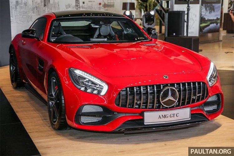 Mercedes-AMG GT C 2018 ra mắt Malaysia, chốt giá 8,277 tỷ đồng 1