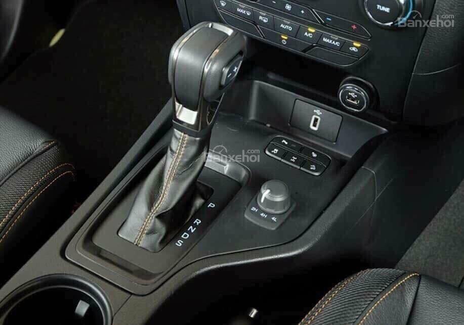 Cần bán Ford Ranger Wildtrak 2.0 Biturbo sản xuất năm 2018, màu đen, xe nhập, giá 918 triệu-2