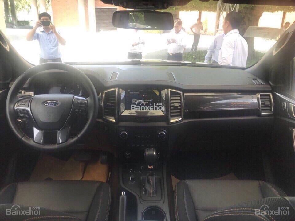 Cần bán Ford Ranger Wildtrak 2.0 Biturbo sản xuất năm 2018, màu đen, xe nhập, giá 918 triệu-6