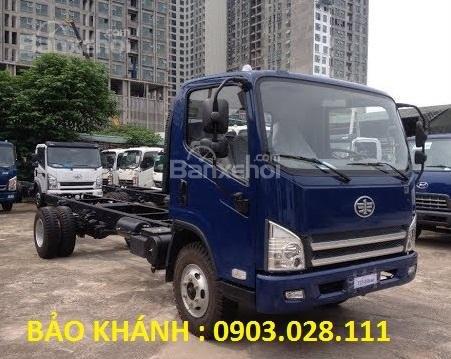 Bán xe tải Faw 7.25Tấn động cơ Yuchai thùng bạt dài 6270m giá rẻ-1