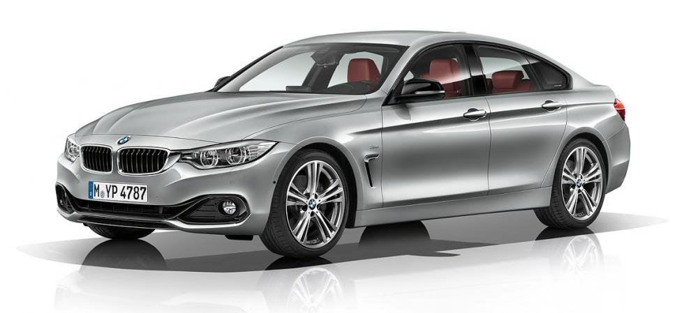 BMW 420i màu bạc tại Việt Nam...