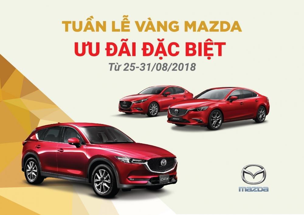 `Mazda tặng bảo hiểm và phụ kiện trong tháng 9/2018.