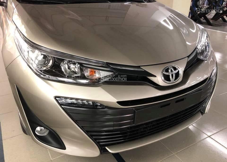 Bán Toyota Vios 2018, giảm giá 15tr hoặc tăng  BHVC, đưa trước 140 triệu nhận xe - Lh 0916.709.900 gặp Kiệt-1