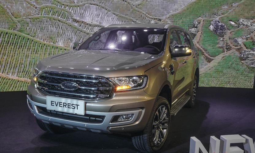 Giá xe Ford Everest 2019 mới nhất tại Việt Nam...