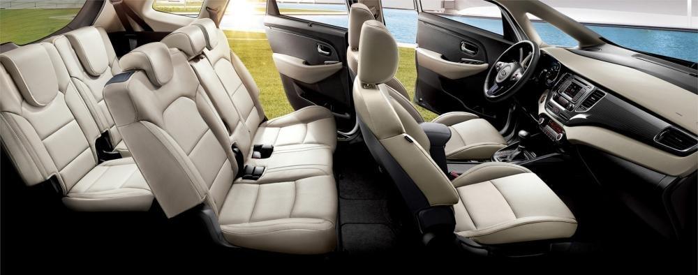 Đánh giá xe Kia Rondo 2018: Hệ thống 7 ghế ngồi ..