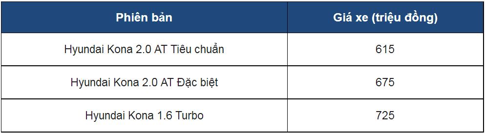 Đánh giá xe Hyundai Kona 2019 1.6 Turbo giá 725 triệu đồng vừa ra mắt Việt Nam a2