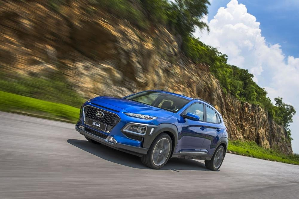 Hyundai Kona 2019 1.6 Turbo sở hữu thiết kế cá tính, sắc nét a2