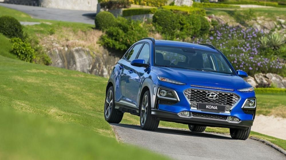 Đánh giá xe Hyundai Kona 2019 1.6 Turbo về thiết kế đầu xe 1