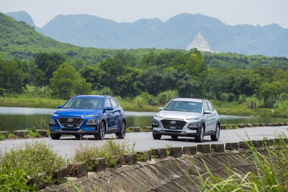 Hyundai Kona 2019 1.6 Turbo gây ấn tượng với trang bị hấp dẫn, động cơ mạnh mẽ và phong cách thiết kế mới mẻ 1