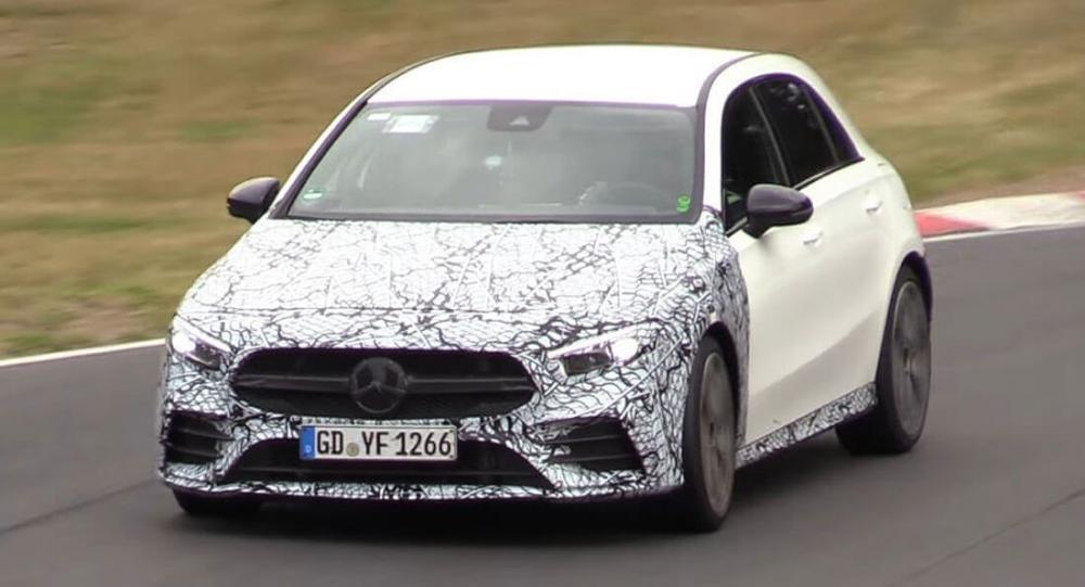 Mercedes-AMG A35 bổ sung động cơ điện, mạnh 300 mã lực.