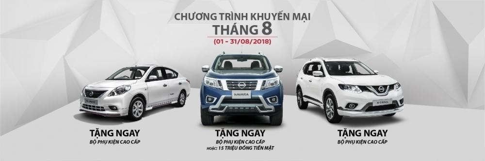Nissan khuyến mại tháng 9/2018 dành cho X-Trail, Sunny và Navara a1