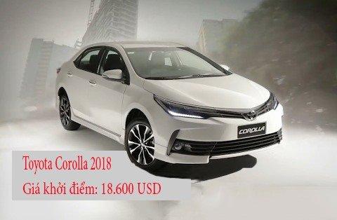 10 xe gia đình dưới 500 triệu đồng tốt nhất hiện nay: Có Honda Civic và Toyota Corolla 2.