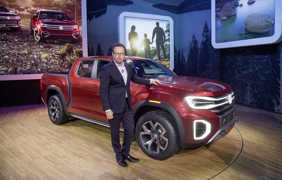 Volkswagen Tanoak sắp được sản xuất thương mại?.