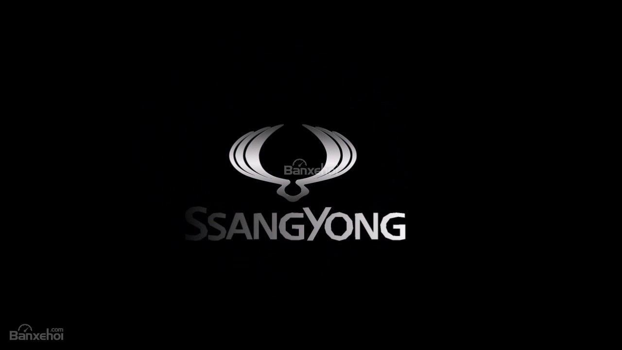 Logo của hãng ô tô SsangYong.