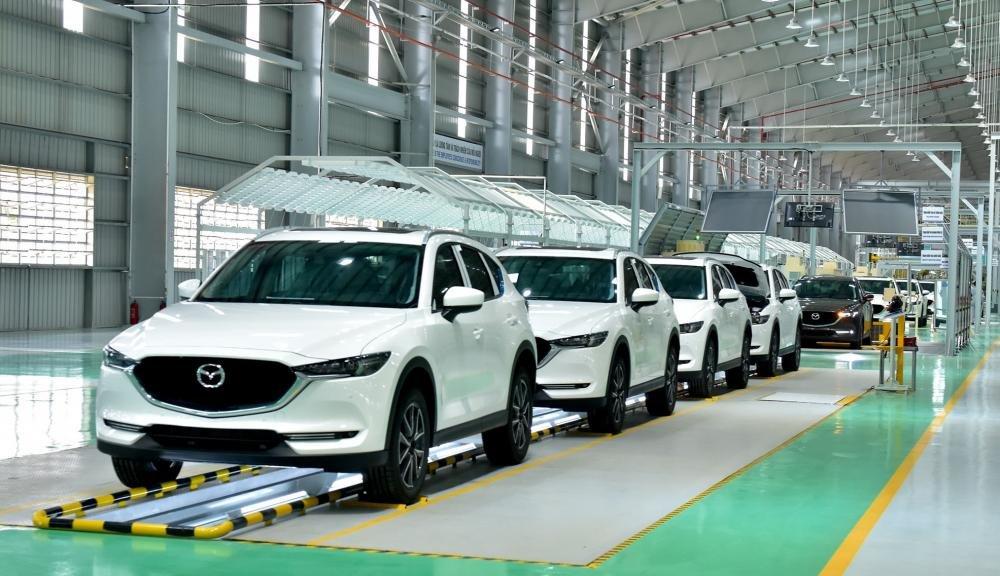 Nhà máy sản xuất ô tô Mazda lớn nhất khu vực của Thaco ...