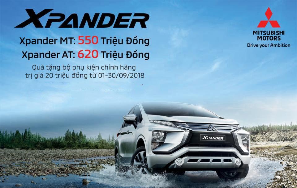 Ước tính giá lăn bánh Mitsubishi Xpander 2018 vừa ra mắt.