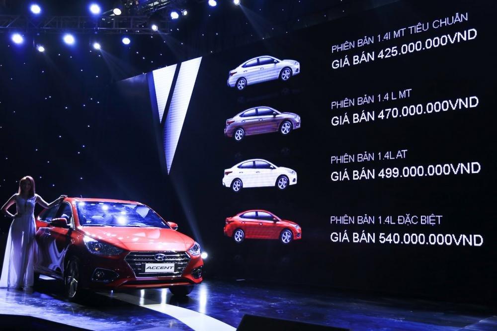 Giá xe Hyundai Accent 2018..