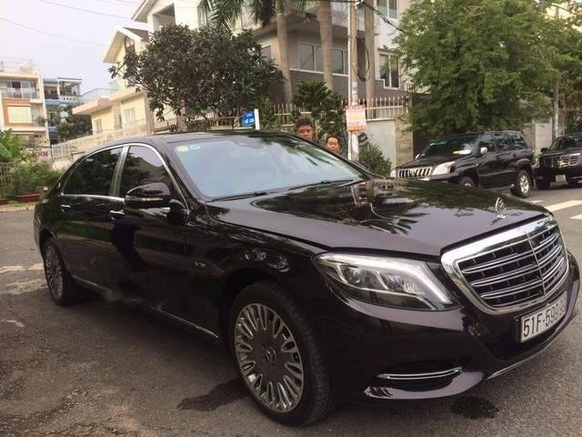 Bán Mercedes S600 sản xuất năm 2015, màu đen, nhập khẩu -2