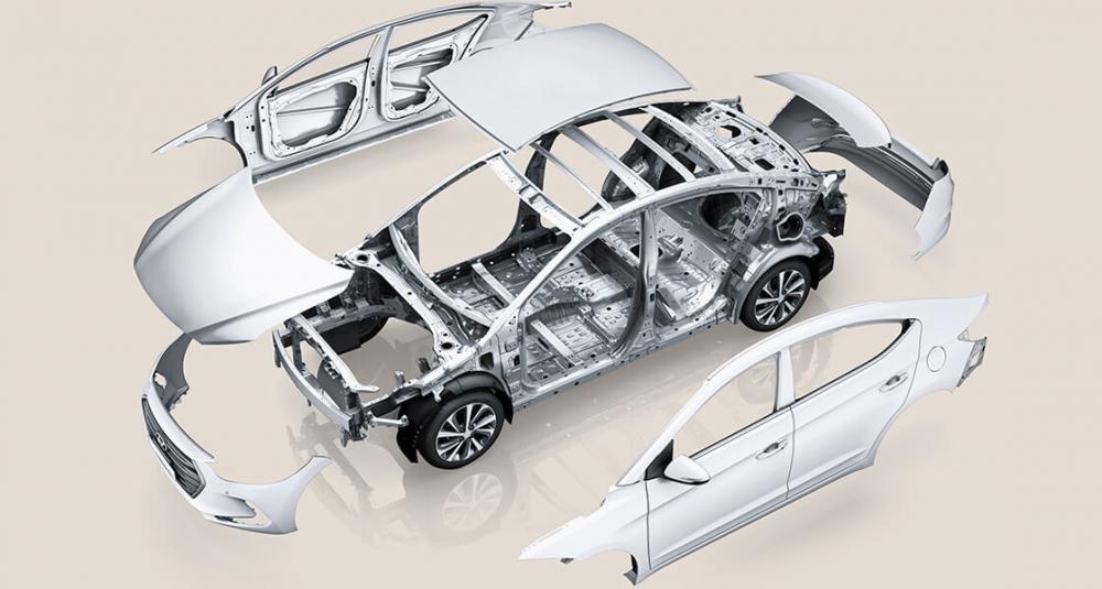 Đánh giá xe Hyundai Accent 2018 bản đặc biệt về công nghệ an toàn..