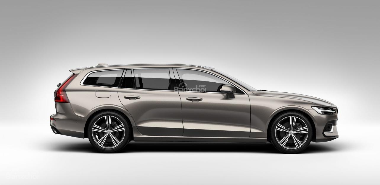 Đánh giá xe Volvo V60 2019 về thiết kế đầu xe.