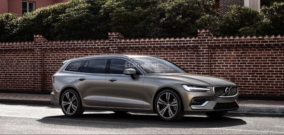 Đánh giá xe Volvo V60 2019 về trang bị an toàn.