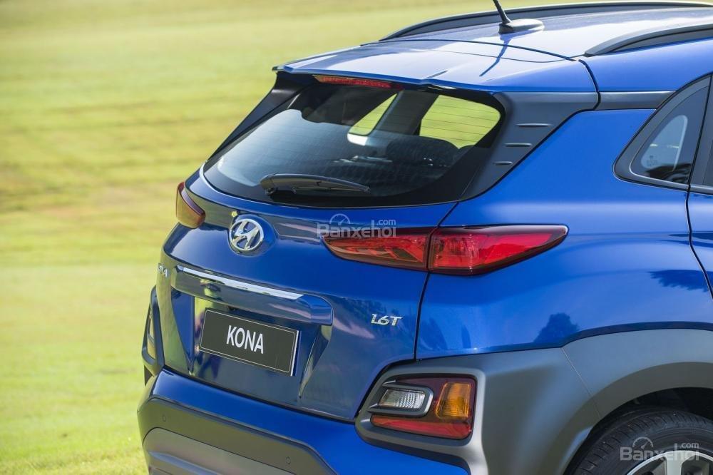 Thiết kế phần đuôi của Hyundai Kona 2018