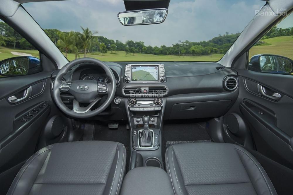 Nội thất của Hyundai Kona 2018