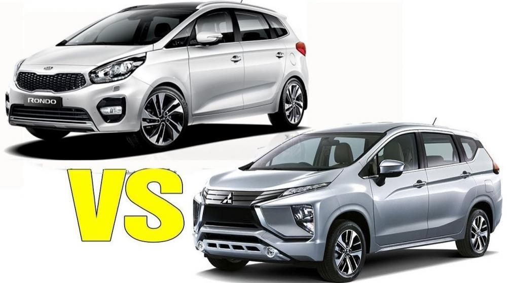 Mitsubishi Xpander 2018 và Kia Rondo 2018