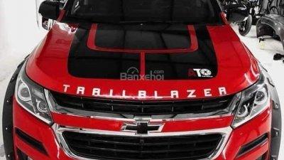 Bán ô tô Chevrolet Trailblazer đời 2018, màu đỏ, nhập khẩu nguyên chiếc-0