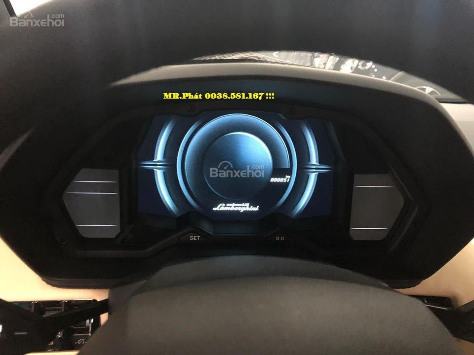 Cần bán xe Lamborghini Aventador S Roadster sản xuất năm 2018, màu xanh lam, nhập khẩu nguyên chiếc-6